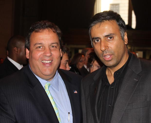 Dr.Abbey with Governor Chris Christie Gov of NJ