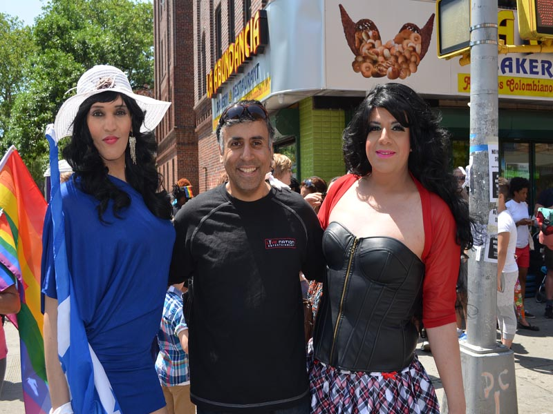 Dr.Abbey with  Guests in attendance at LGBTQ Parade 2015