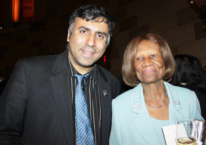 Dr.Abbey with  Hazel  Dukes President of NAACP NYS