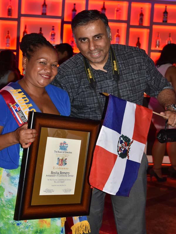 Dr.Abbey with Honoree Rosita Romero Exec Dir DWDC