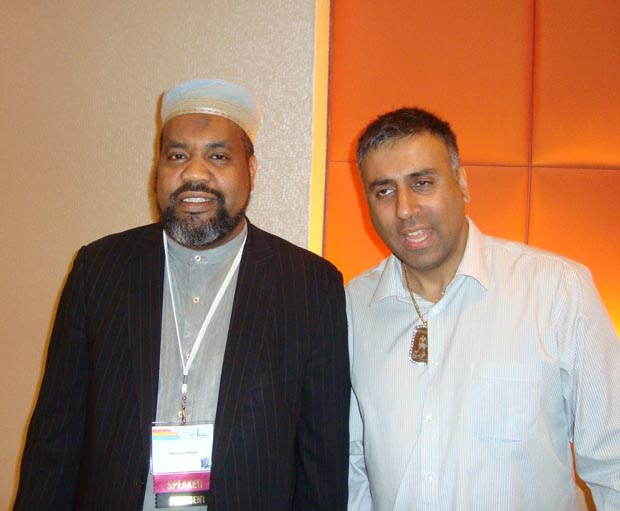 Dr.Abbey with ISNA President Imam Magid