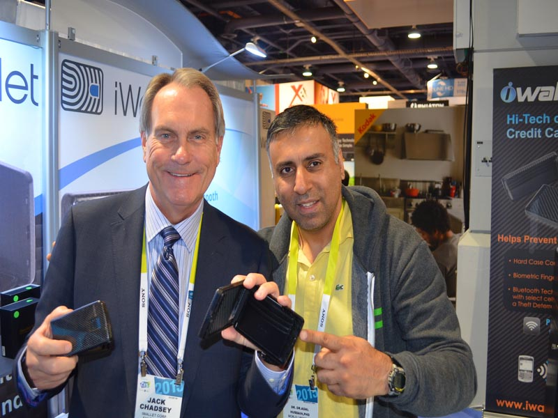 Dr.Abbey with Jack Chadsey Ceo iwallet Corp