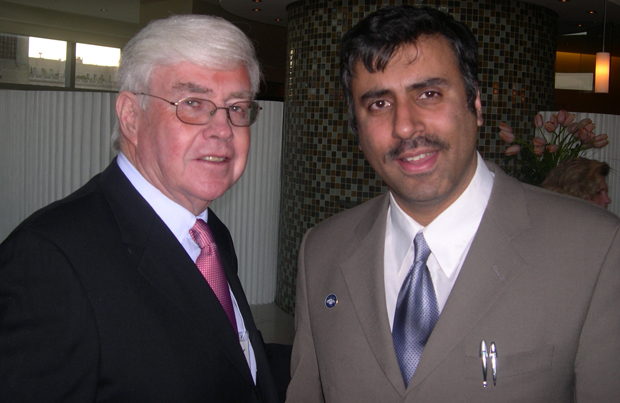 Dr.Abbey with Jack Kemp Former Secty of HUD