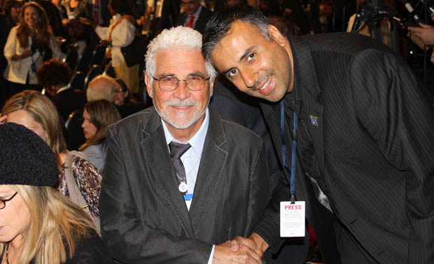 Dr.Abbey with James Brolin Actor