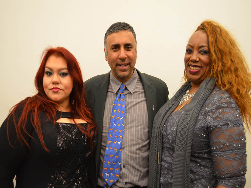 Dr.Abbey with Jamila Jay Choyce Model & Host & a guest