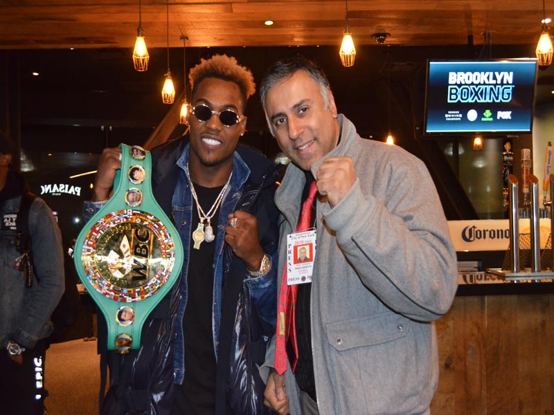 Dr.Abbey with Jermall Charlo WBC interim middleweight champion