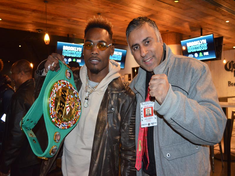 Dr.Abbey with Jermell Charlo WBC Jr Middleweight World Boxing Champion