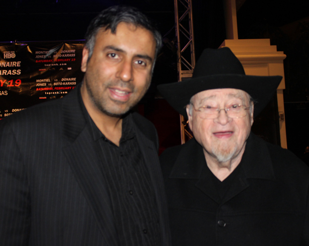 Dr.Abbey with Jerry IzenbergColumnist Emeritus The StarLedger