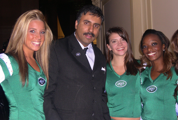Dr.Abbey with Jets New Flag Crew Members