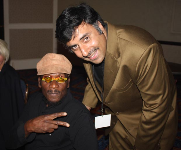Dr.Abbey with  Jimmy Cliff Entertainer