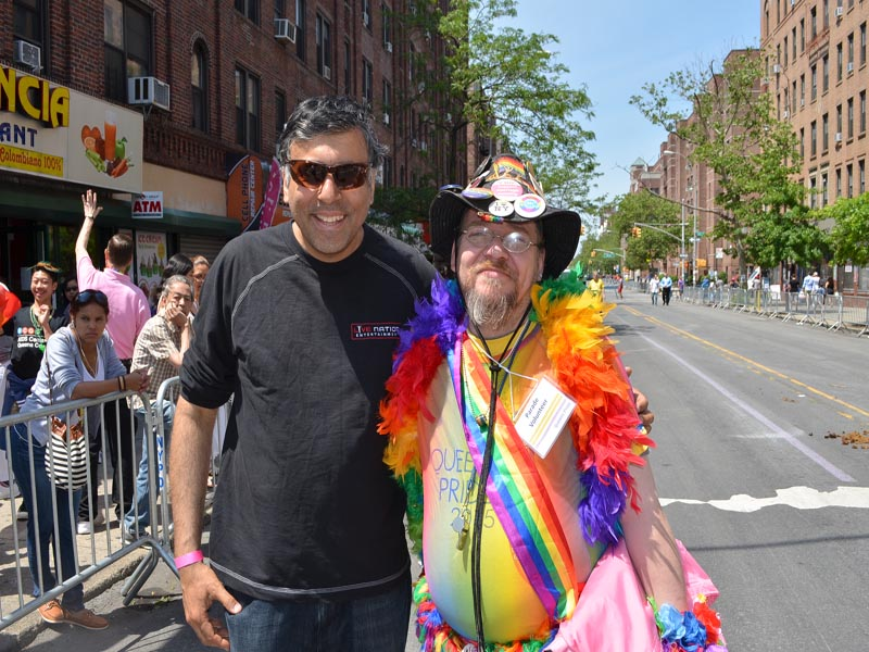 Dr.Abbey with Joe Queens Pride Posse