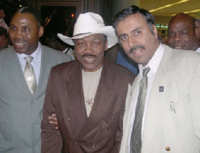 Dr.Abbey with Joe & marvis frazier