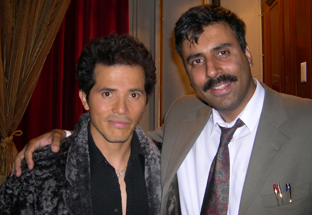 Dr.Abbey with John Leguizamo,Actor and  Comedian