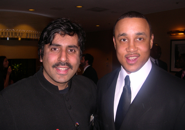 Dr.Abbey with John Starks Former Knicks Player