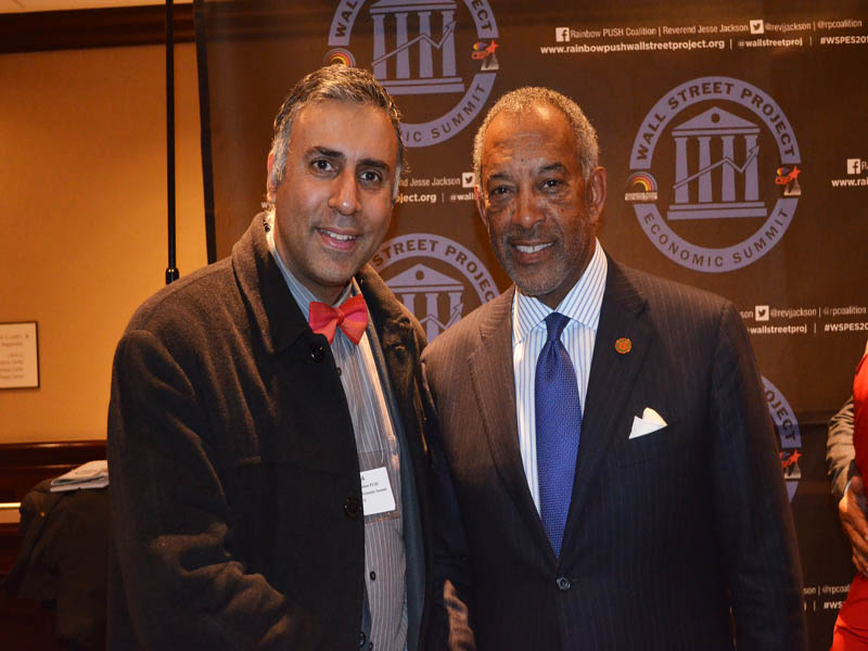 Dr.Abbey with John W.Thompson Chairman of Microsoft
