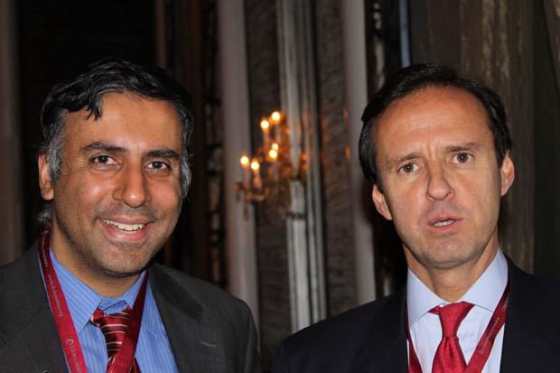 Dr.Abbey with Jorge Fernando Quiroga Ramirez, former President of Bolivia