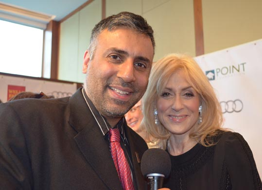 Dr.Abbey with Judith Light Tony Award Winning Actress