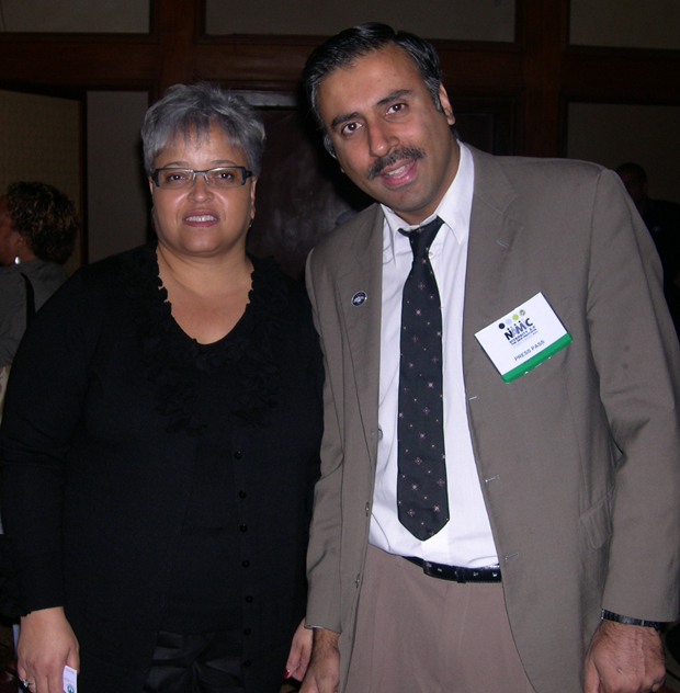 Dr.Abbey with Kathy A.Johnson President NAMIC