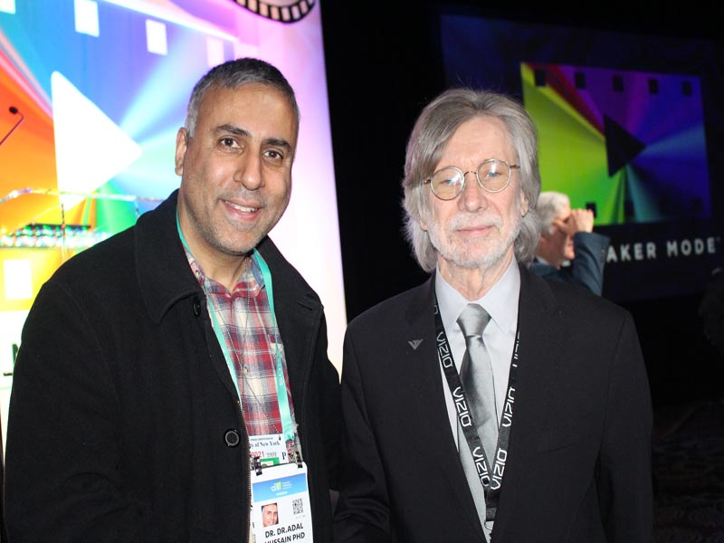 Dr.Abbey with Ken Lowe Co-Founder VIZIO