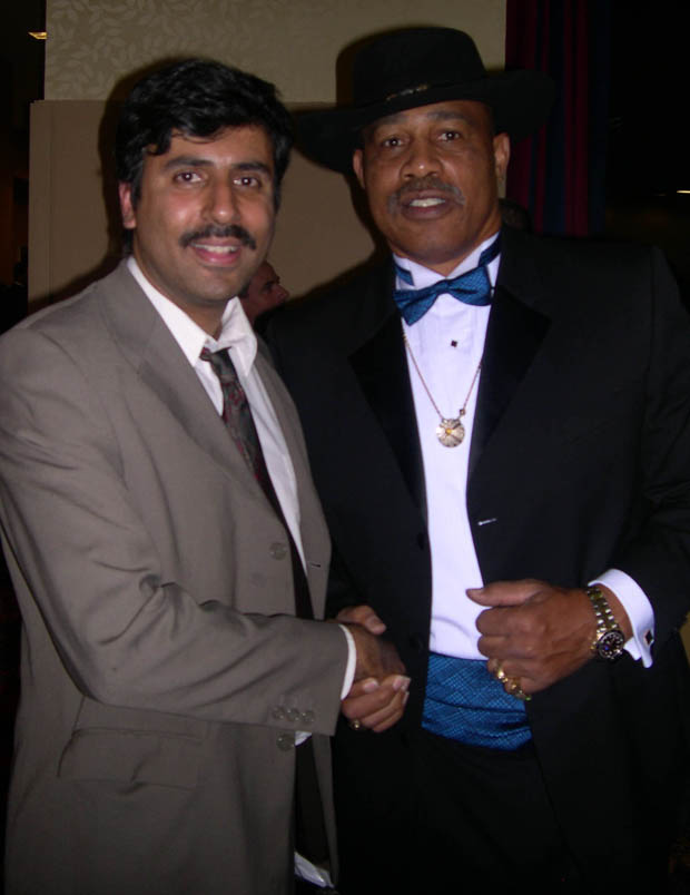 Dr.Abbey with Ken Norton Former Heavyweight World Champ