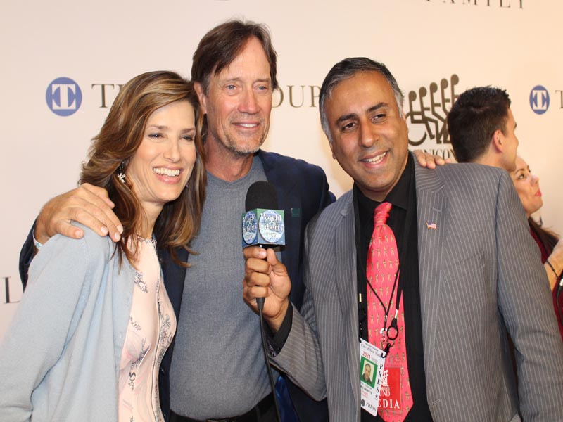 Dr.Abbey with Kevin Sorbo Actor and his wife Sam Jenkins