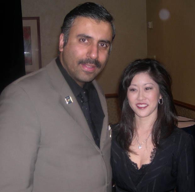 Dr.Abbey with Kristi Yamaguchi,Skating Olympic Gold Medalist