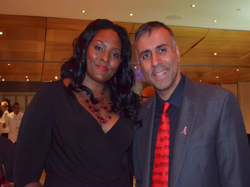 Dr.Abbey with Kym Hampton WNBA NY Liberty Basketball Player