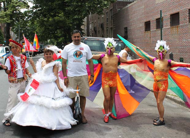 Dr.Abbey with LGBTQ Folklore Dancers