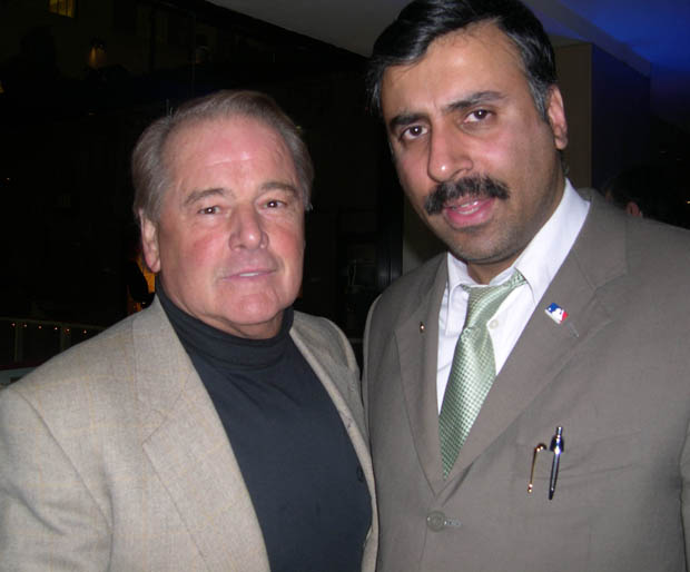 Dr.Abbey with Legendary Rod Gilbert of NY Rangers