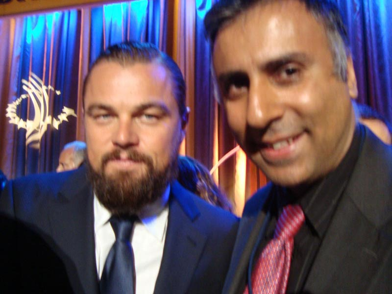 Dr.Abbey with Leonardo DiCaprio