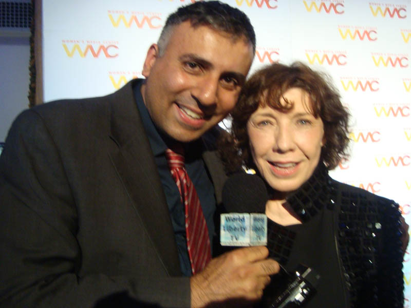 Dr.Abbey with Lily Tomlin