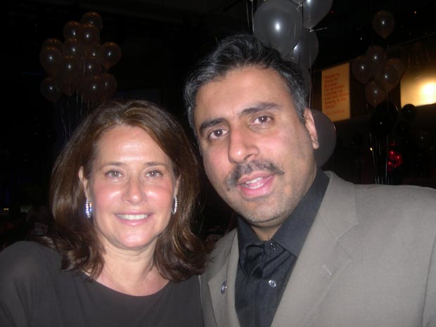 Dr.Abbey with  Lorriance Bracco Sopranos Actress