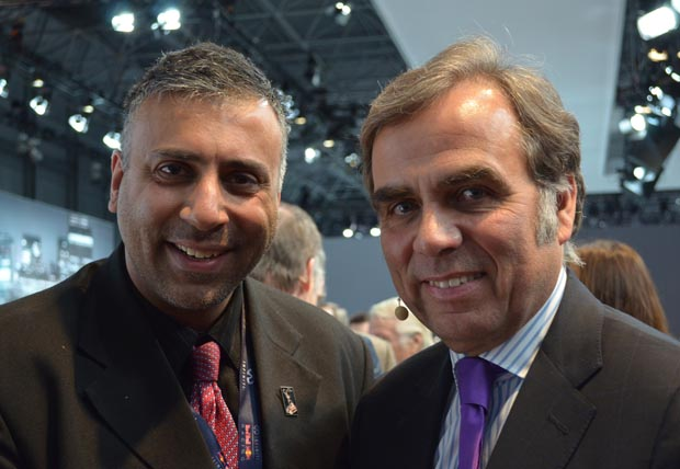 Dr.Abbey with Ludwig Willisch President CEO of BMW , NA.