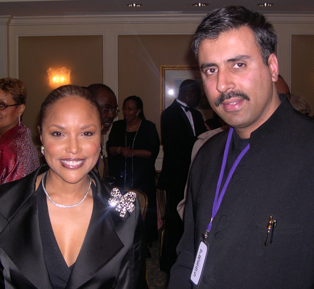 Dr.Abbey with Lynn Whitfield  Emmy Award Winning Actress