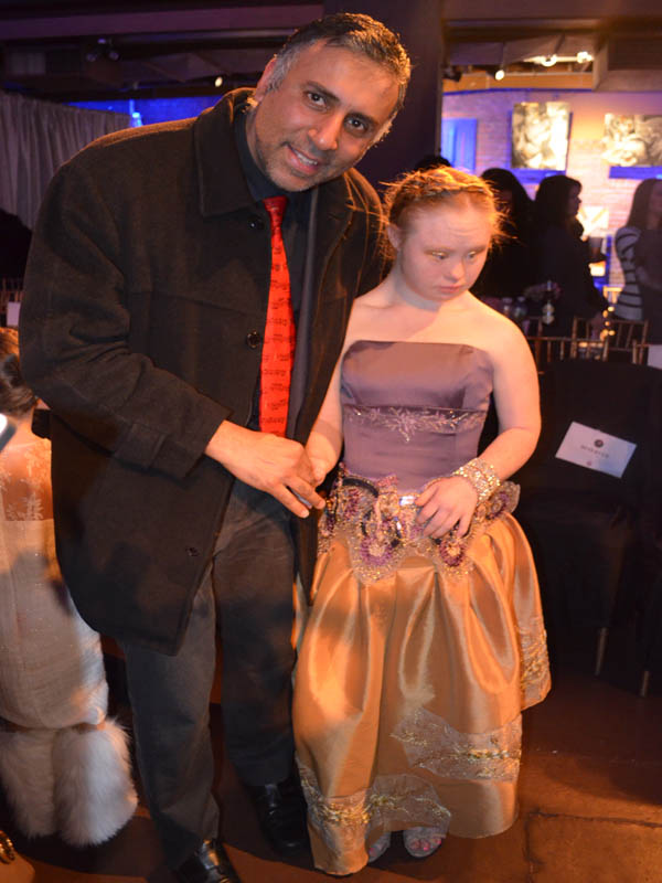 Dr.Abbey with Madeline Stuart – Model with Downs Syndrome