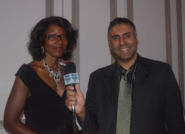 Dr.Abbey with Majorie Hill President GMHC