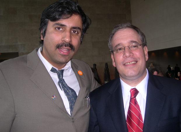 Dr.Abbey with Manhattan Boro President Scott Stringer