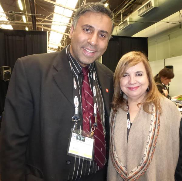 Dr.Abbey with Maricel Presilla Author Gran Cocina Latina
