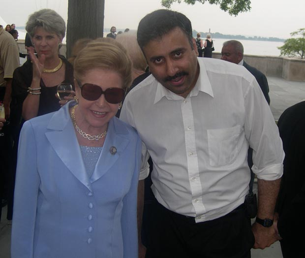 Dr.Abbey with  Mary Higgins Clark  World Renowned Author
