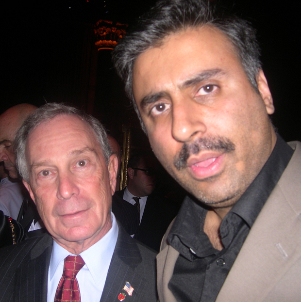 Dr.Abbey with Mayor Michael Bloomberg