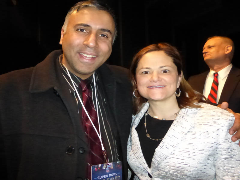 Dr.Abbey with Melissa Mark -Viverito