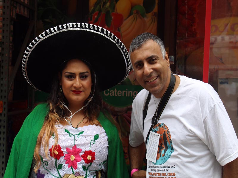 Dr.Abbey with Mexican LGBTQ Member