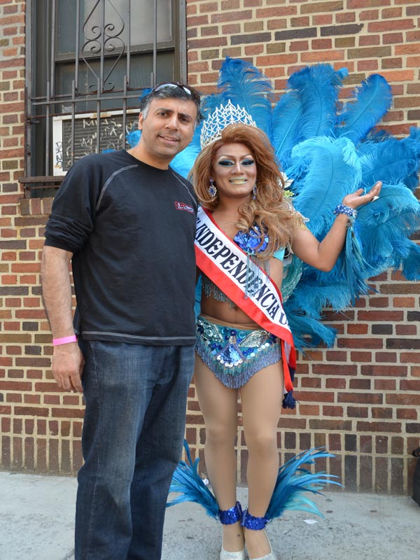 Dr.Abbey with Miss Independencia 2015