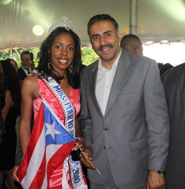 Dr.Abbey with Miss PR 2010