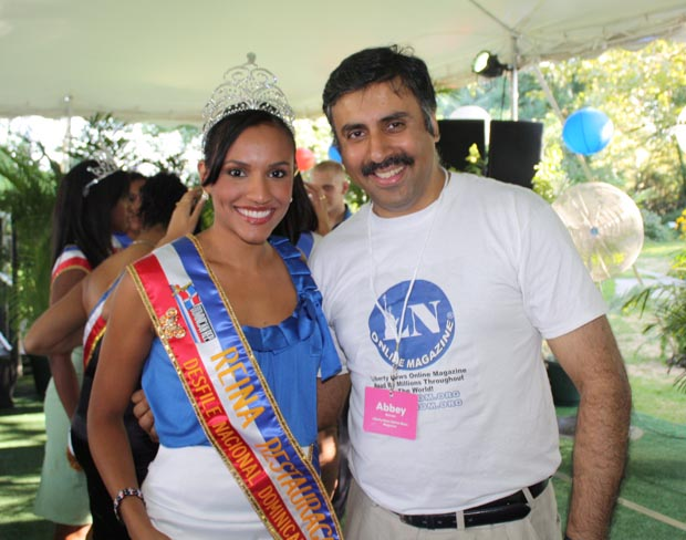 Dr.Abbey with Miss Santo Domingo 2008