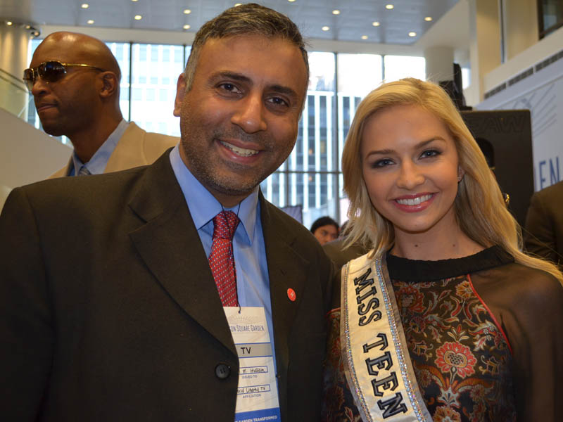 Dr.Abbey with  Miss Teen USA Cassidy Wolf