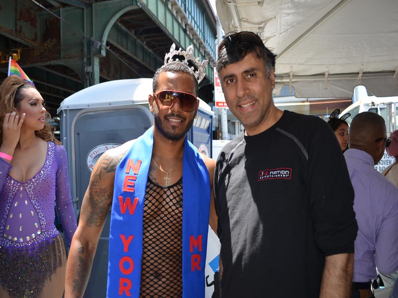 Dr.Abbey with Mr NY Latino 2015