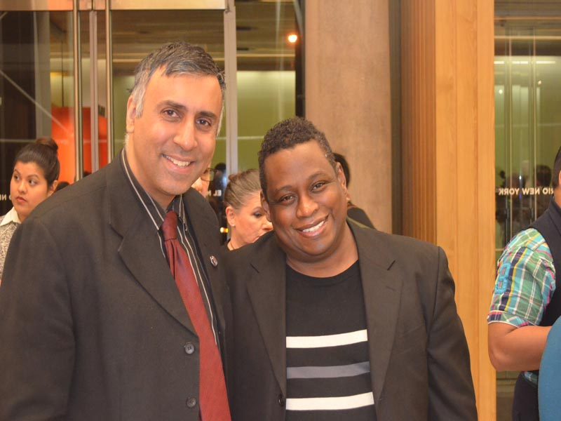 Dr.Abbey with Mykel C.Smith Creative Dir