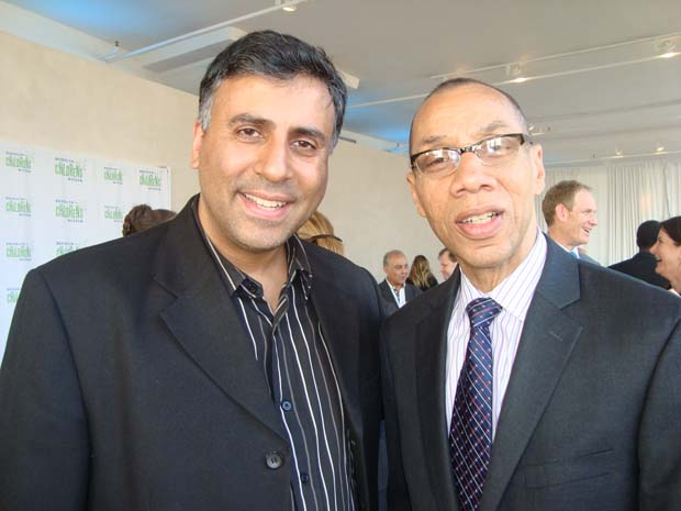 Dr.Abbey with NYCDE Chancellor Dennis M.Walcott