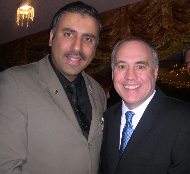 Dr.Abbey with NYS Comptroller Thomas P. DiNapoli